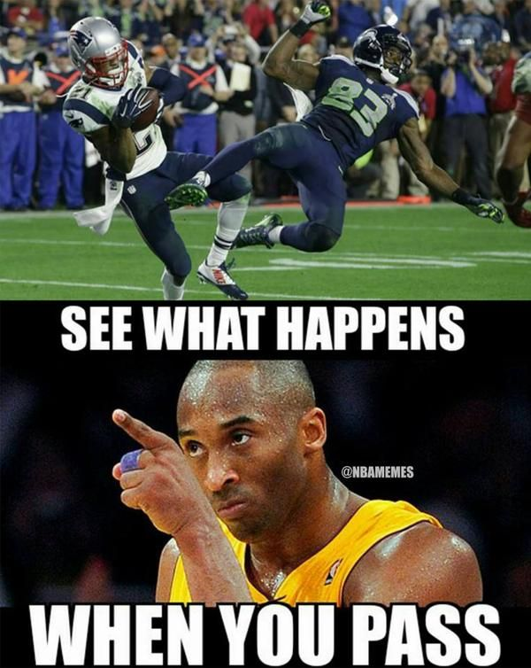 Kobe Bryant's thoughts on the Seahawks' PASS attempt. #Patriots #SB49 - http://nbafunnymeme.com/nba-memes/kobe-bryants-thoughts-on-the-seahawks-pass-attempt-patriots-sb49