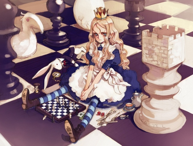 Pin by Marnie Newman on Anime in 2020 Evil alice, Alice