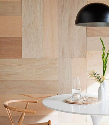 Very Cool Plywood Wall