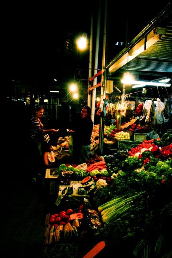 Night Market, San Telmo, Buenos Aires, Argentina
