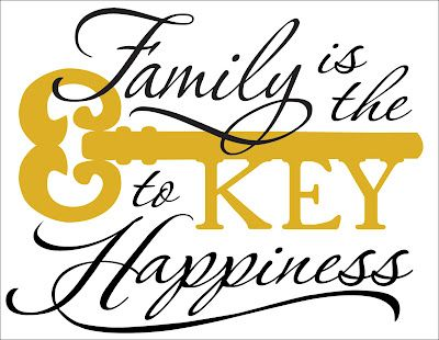 Two Chicks and a Vinyl Cutter: Family Key