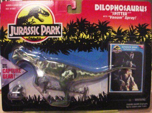 Jurassic Park - Dilophosaurus w/Capture Gear @ niftywarehouse.com #NiftyWarehouse #JurassicPark #Jurassic #Dinosaurs #Film #Dinosaur #Movies
