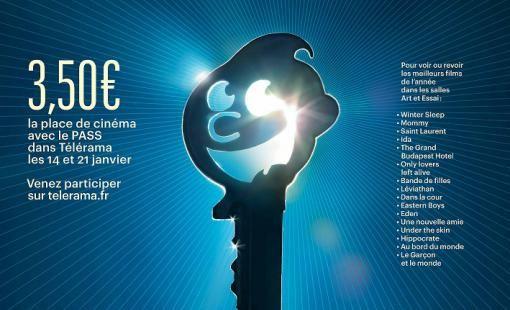 Le Festival cinéma Télérama du 21 au 27 janvier.