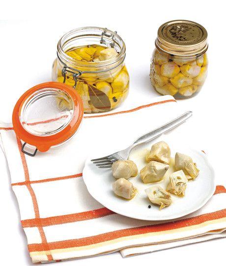 #Carciofini sott'olio #ricetta #senzaglutine #food