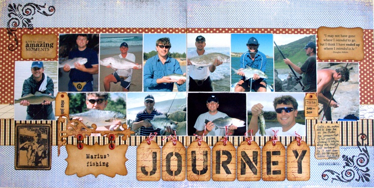 Marius' Fishing Journey - Scrapbook.com
