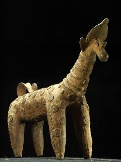 Giraffe bronze - Bobo Dioulasso - Burkina Faso - Bronzes