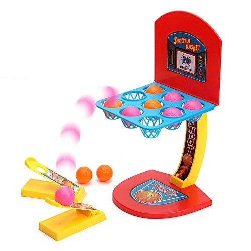 Tabletop Mini Basketball Shooting Games for Kids Sports T