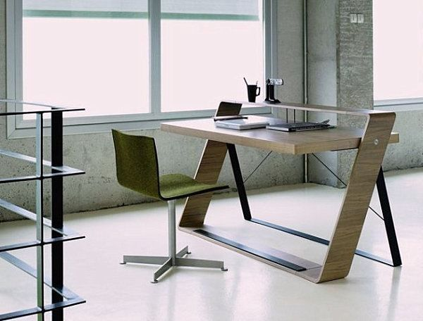 20+ Futuristic Modern Computer Desk and Bookcase Design Ideas