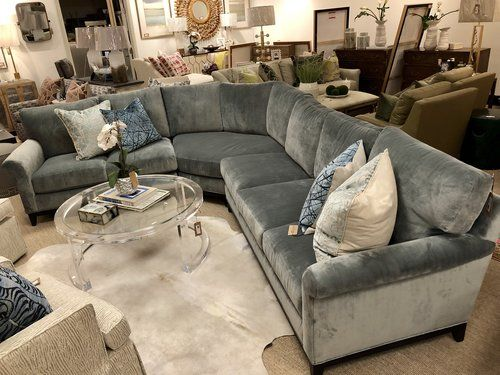 7583 18rf Sectional Sofa With Round Corner In 2020 Sectional