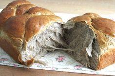 Black Sesame Seeds Loaf (5 Thousand Dollars Starter Dough Bread Recipe)