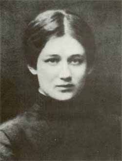 Anna Akhmatova / Анна Ахматова в старших классах гимназии - The souls of all my dears have flown to the stars. Thank God there's no one left for me to lose – so I am free to cry.  This air was made for the echoing of songs.                      –Anna Akhmatova, Russian poet, 1944 - 2 The Complete Poems of Anna Akhmatova