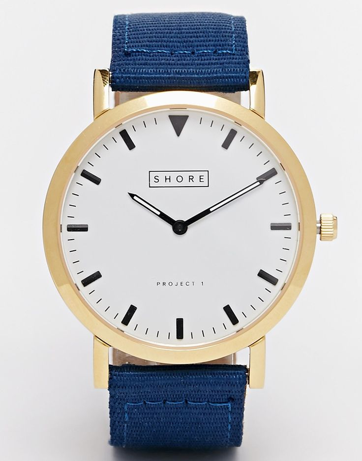 Image 1 of Shore Projects Canvas Strap Watch With Interchangeable Strap Mechanism
