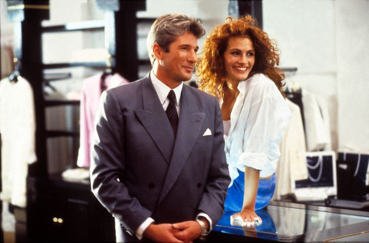 Pretty Woman, 1990. Julia Roberts i Richard Gere.
