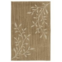 "Shaw Living 30"" x 46"" Parkview Beige Accent Rug"