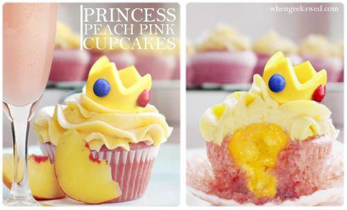 Princess Peach Cupcakes on Global Geek News.