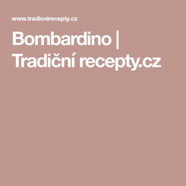 Bombardino   Tradiční recepty.cz