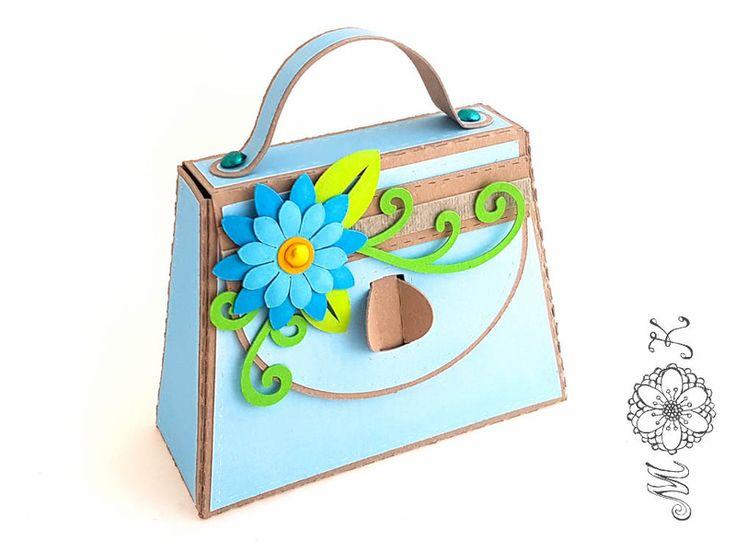 Digitale Downloads - Plotterdatei Mini-Tasche - ein Designerstück von MiriamKreativ bei DaWanda