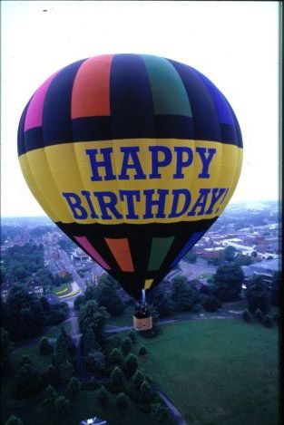 birthday hot air ballons | Balloon Pictures - Hot Air Balloon Flight
