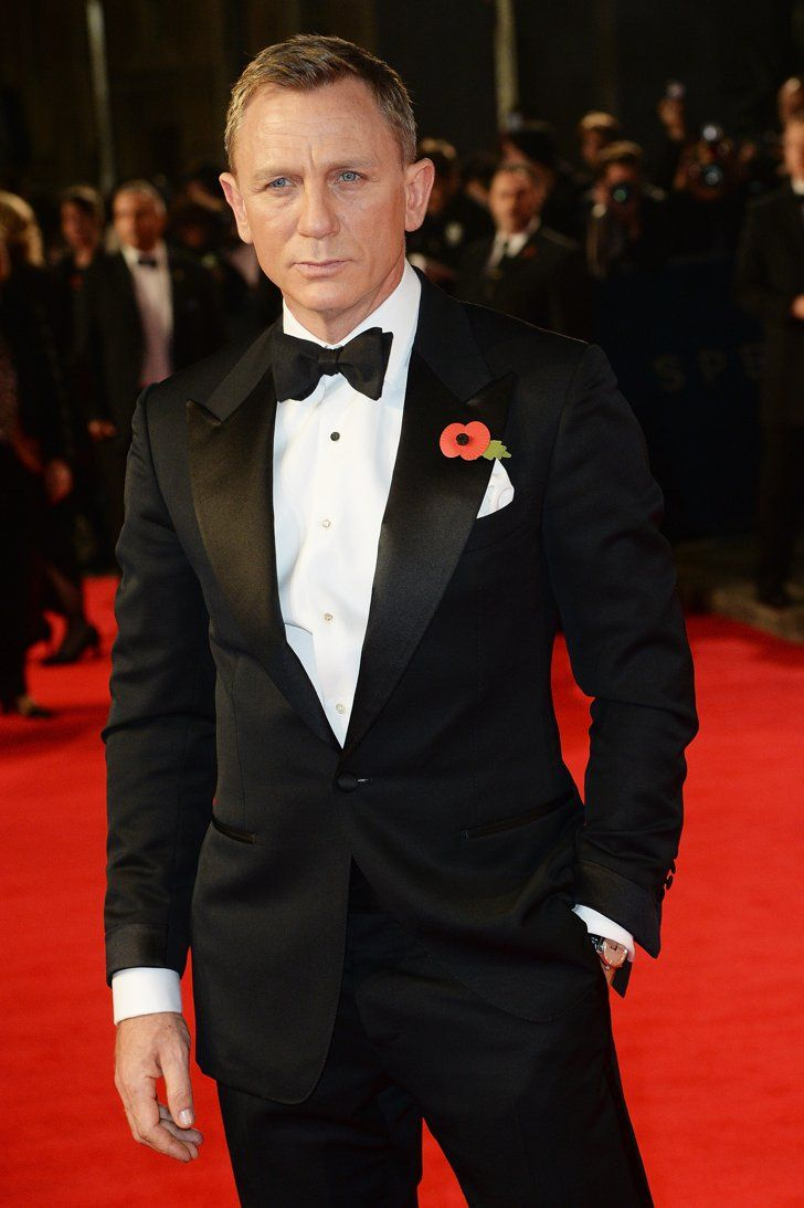 Pin for Later: James Bond Himself Does Not Disappoint at the Royal Premiere of Spectre