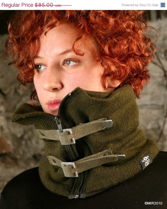 Awesome army inspired cowl