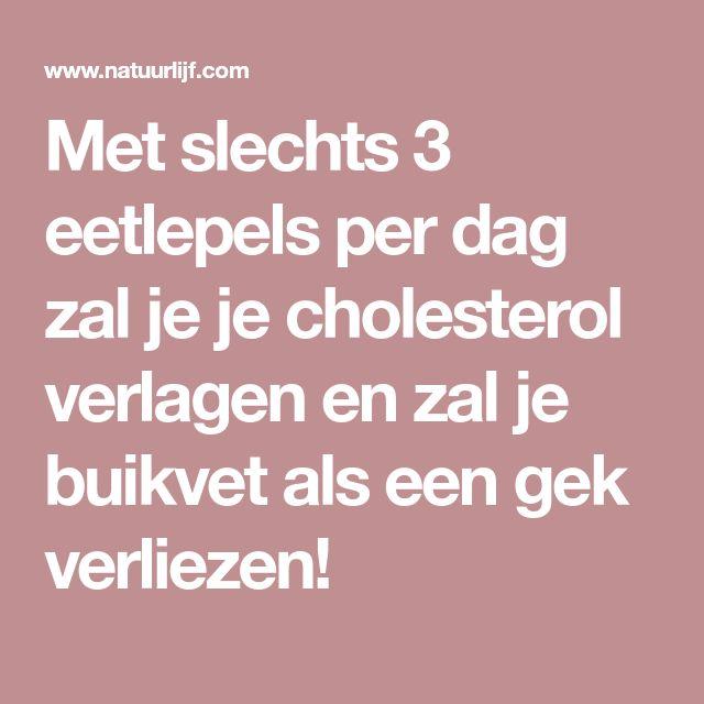 appelazijn cholesterol