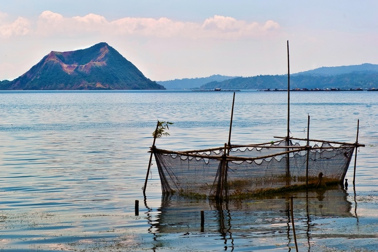 Taal Lake Dusk Isle Of Luzon Philipines Isleofluzon Philipines Philippines Pinterest