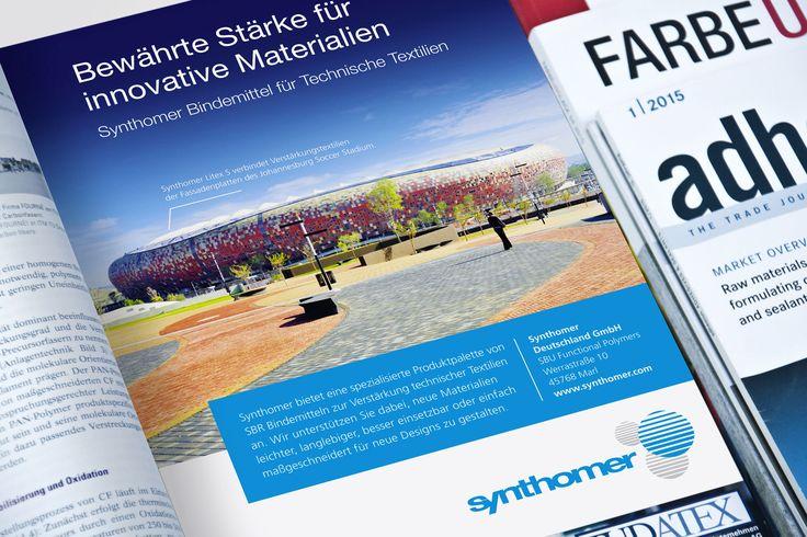 Synthomer Deutschland - B2B Markenkommunikation