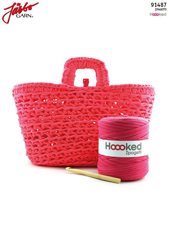 Make your own shopping bag with Hoooked Zpagetti!