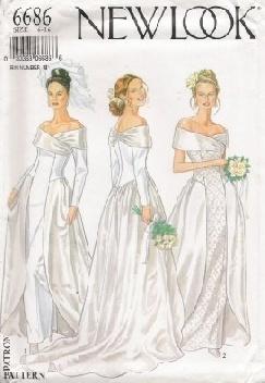 free wedding dress patterns to sew