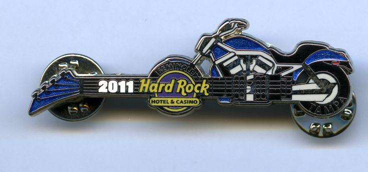 Tampa - Hard Rock Cafe Guitar Pin