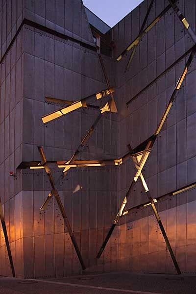 Jewish Museum, Daniel Libeskind, 2001 | Berlin, Germany | by Matthias Van Rossen