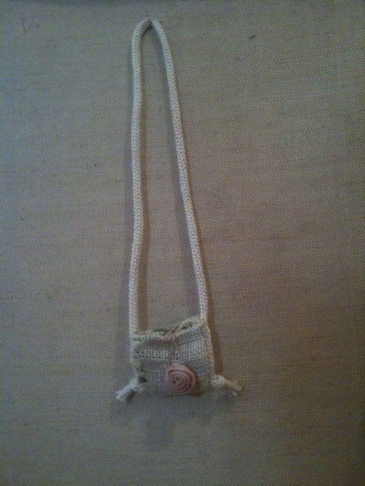 Necklace purse by EvikastArt on Etsy