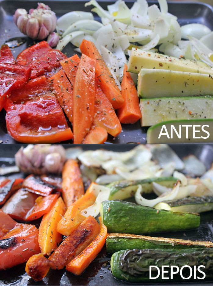 Vegetais assados