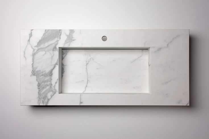 Washbasins and shower trays made with big size porcelain slabs
