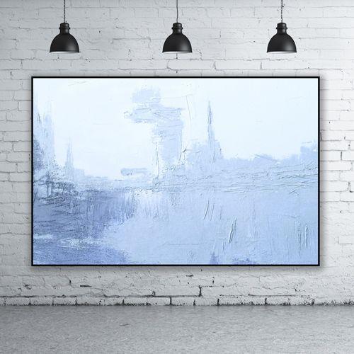 obrazy olejne Obraz olejny - Niebieski I 690zl