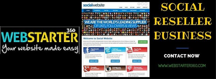 Turnkey Online Business For Sale - Buy Social Reseller Business.