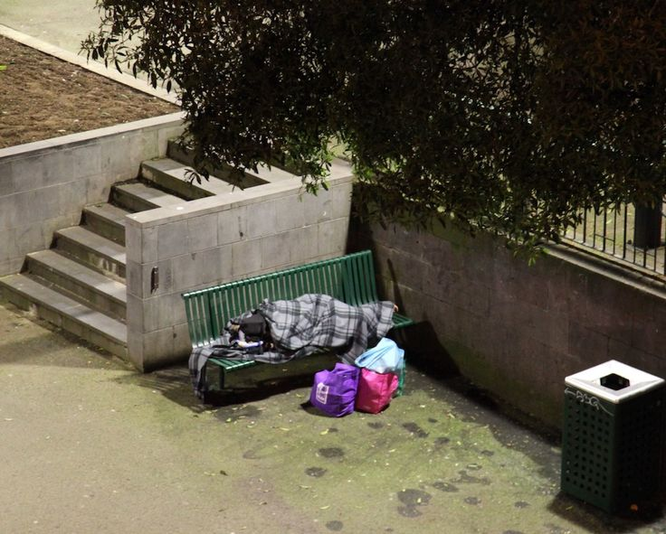 Homeless, Melbourne. by Awes Amin