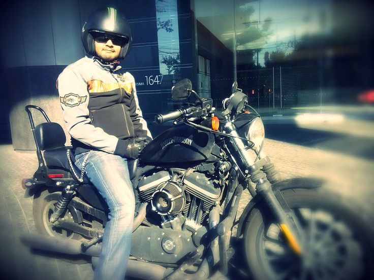 Harley Davidson Iron 883 Sportster Mexico City