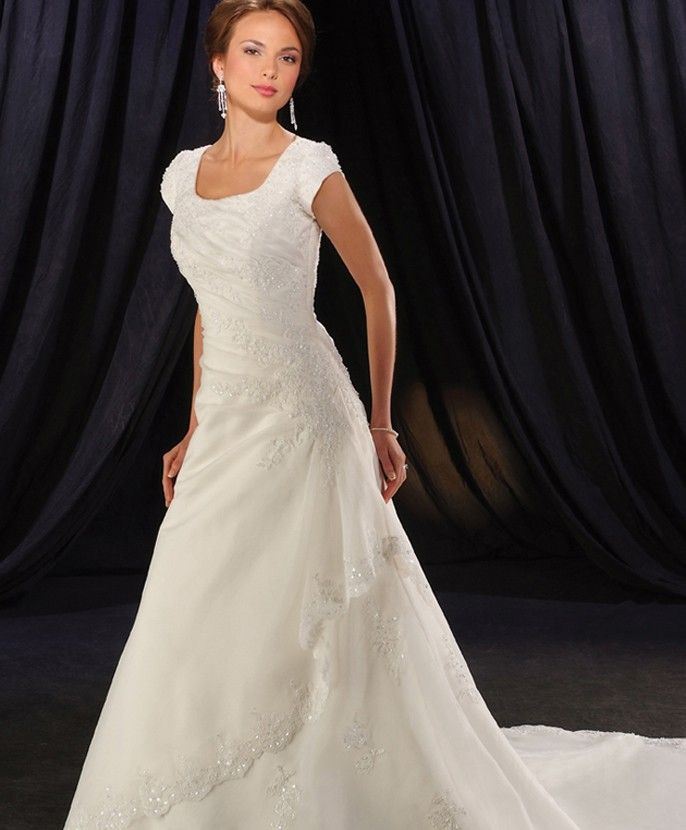 Wedding Gowns With Cap Sleeves: 87 Best Find YOUR Modest Gown Images On Pinterest