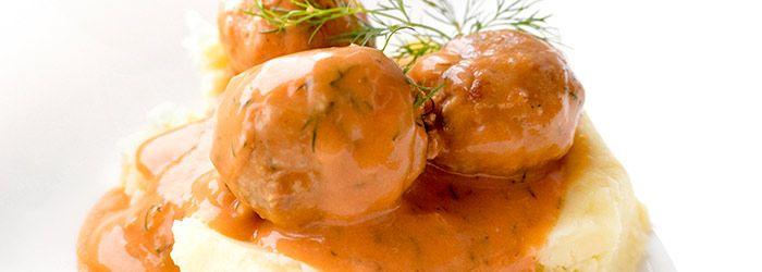 Pulpeciki w sosie pomidorowo-koperkowym