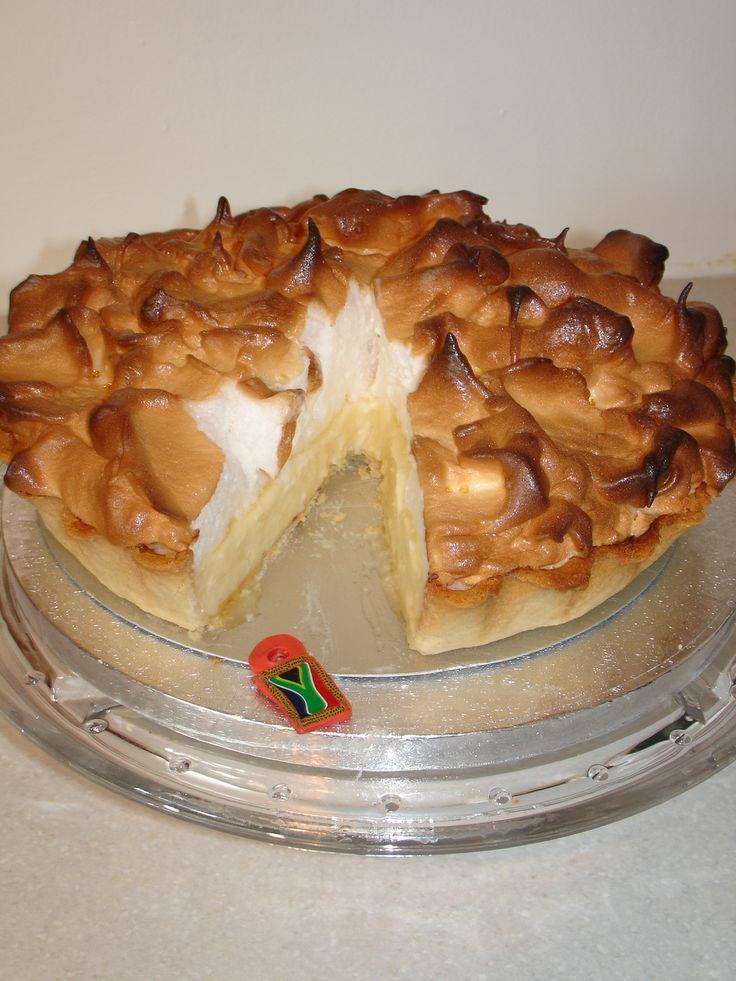 (Jul 2013) South African Recipe Lemon Meringue Pie!