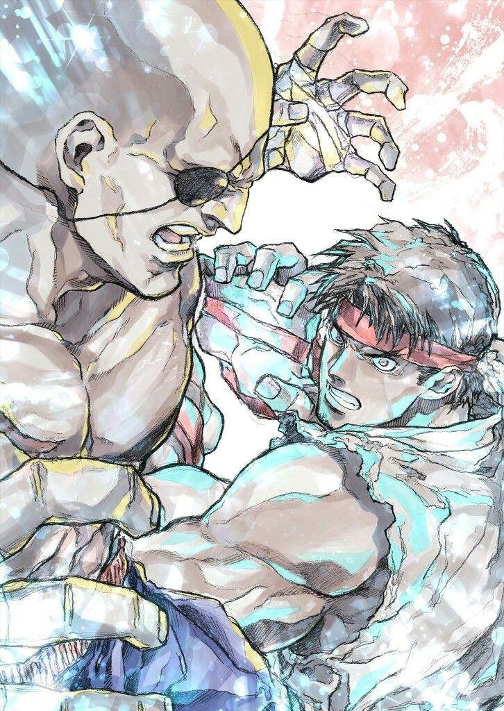 Ryu and ???? By mr. Shoryuken