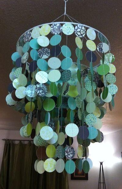 26 best Hide ugly rental chandelier images on Pinterest | Creative ...