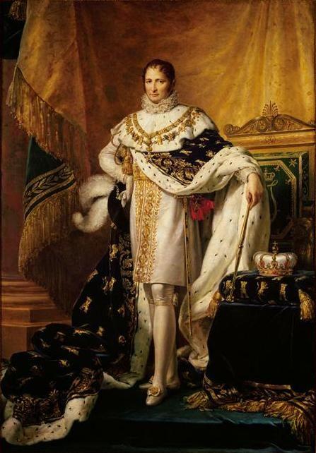 Giuseppe Bonaparte, fratello di Napoleone e re di Spagna.