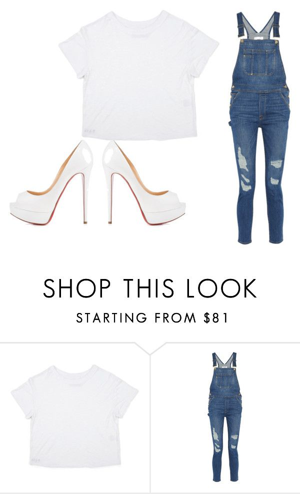 """Kathryn Bernardo's Outfit for It's Showtime Kapamilya Day"" by mickeysc2012-770 on Polyvore featuring Frame Denim and KiligKapamilya"