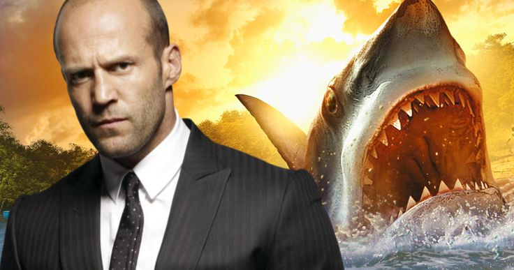 Jason Statham Will Fight a Prehistoric Shark in 'Meg' -- Action icon Jason Statham is in negotiations to take the lead in the big screen adaptation of Shark thriller 'Meg'. -- http://movieweb.com/meg-movie-jason-statham-shark/