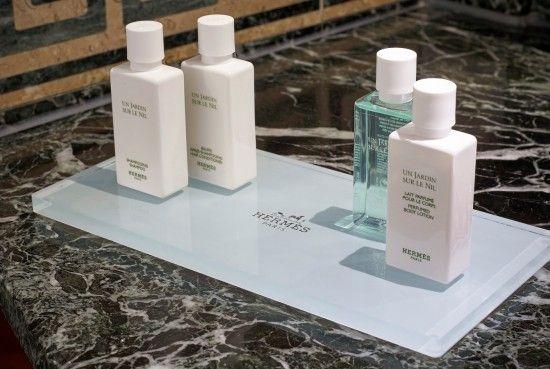 Hermès bath amenities