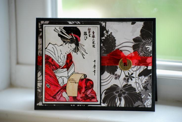 Asian card - Scrapbook.com