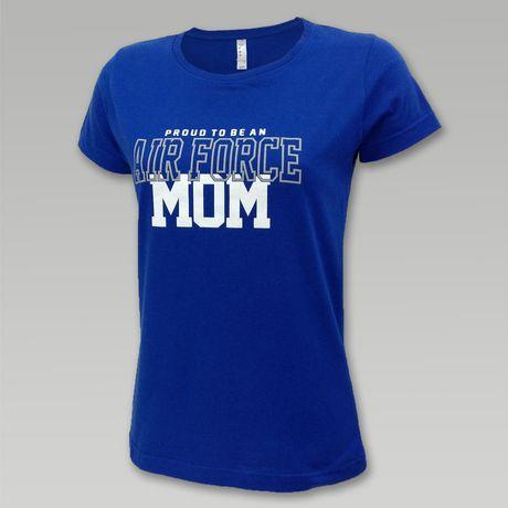 Ladies Proud Air Force Mom T   ArmedForcesGear.com
