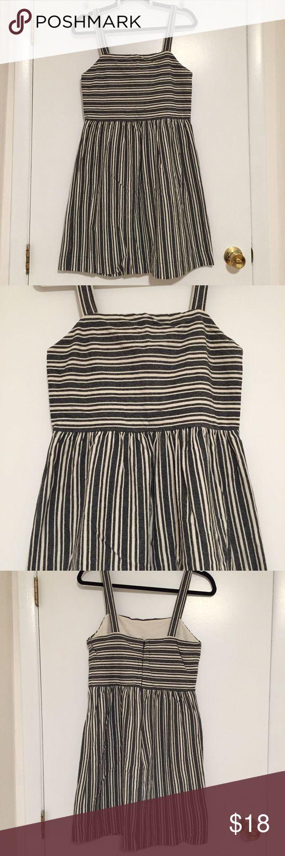 🎉Wknd Sale! Cute Striped Summer Dress Pretty striped summer dress. Not sheer! 🚫No Trade LOFT Dresses